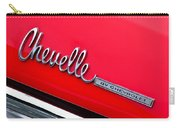 Chevrolet Chevelle Ss Taillight Emblem Carry-all Pouch