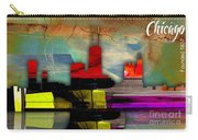 Chicago Skyline Watercolor Carry-all Pouch