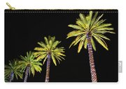 4 Christmas Palms Carry-all Pouch