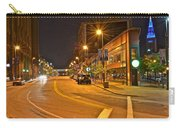 Cleveland Ohio Carry-all Pouch by Frozen in Time Fine Art Photography