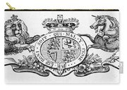 Coat Of Arms Great Britain Carry-all Pouch