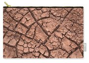 Cracked Dry Clay Carry-all Pouch