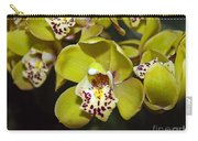 Cymbidium Orchid Carry-all Pouch