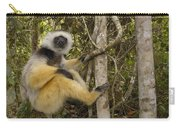 Diademed Sifaka Madagascar Carry-all Pouch