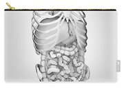 Digestive System And Bones Carry-all Pouch