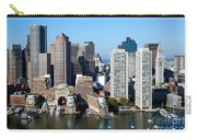 Downtown Boston Skyline Carry-all Pouch