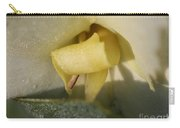 Dwarf Canna Lily Named Ermine Carry-all Pouch by J McCombie