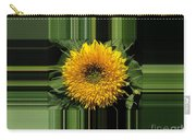 Dwarf Sunflower Named Teddy Bear Carry-all Pouch
