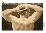 Eugen Sandow Carry-all Pouch by George Steckel