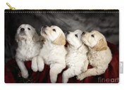 Festive Puppies Carry-all Pouch