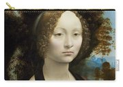 Ginevra De' Benci Carry-all Pouch
