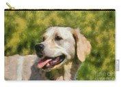 Golden Retriever Portrait Carry-all Pouch