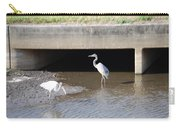 Great White Heron Carry-all Pouch