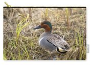 Greenwing Teal Carry-all Pouch