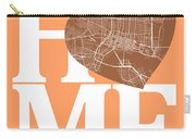 Jacksonville Street Map Home Heart - Jacksonville Florida Road M Carry-all Pouch