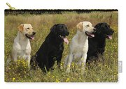 Labrador Retriever Dogs Carry-all Pouch