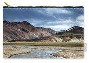 Landmannalaugar Iceland Carry-all Pouch