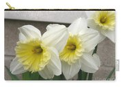 Large-cupped Daffodil Named Ice Follies Carry-all Pouch
