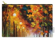 Light Of Autumn Carry-all Pouch