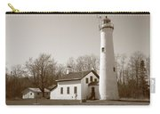 Lighthouse - Sturgeon Point Michigan Carry-all Pouch