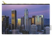 Los Angeles Skyline Sunset Carry-all Pouch