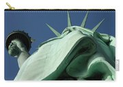 Low Angle View Of Statue Of Liberty Carry-all Pouch