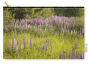 Maine Wild Lupine Flowers Carry-all Pouch