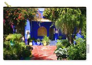 Majorelle Garden Marrakesh Morocco Carry-all Pouch