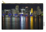 Miami Downtown Skyline Carry-all Pouch