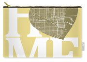 Miami Street Map Home Heart - Miami Florida Road Map In A Heart Carry-all Pouch