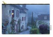 Misty Dawn In Saint Cirq Lapopie Carry-all Pouch by Brian Jannsen