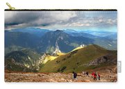 Mountains Stormy Landscape Carry-all Pouch