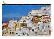 Oia Town Carry-all Pouch