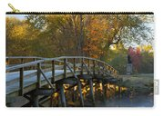 Old North Bridge Concord Carry-all Pouch by Brian Jannsen
