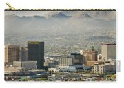 Panoramic View Of Skyline And Downtown Carry-all Pouch