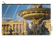 Paris Fountain Carry-all Pouch by Brian Jannsen