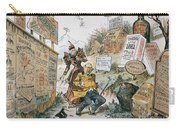 Patent Medicine Cartoon Carry-all Pouch
