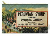 Patent Medicine Carry-all Pouch