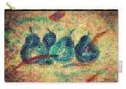 4 Pears Mosaic Carry-all Pouch