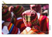 Peruvian Dancers At The Parade In Cusco Carry-all Pouch