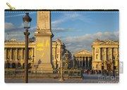 Place De La Concorde Carry-all Pouch
