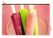 Popsicles Ice Cream Frozen Treat Carry-all Pouch
