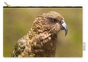 Portrait Of Nz Alpine Parrot Kea Nestor Notabilis Carry-all Pouch