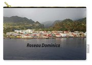 Roseau Dominica Carry-all Pouch