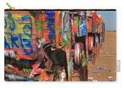 Route 66 - Cadillac Ranch Carry-all Pouch