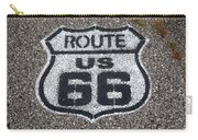Route 66 Shield Carry-all Pouch