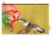 Ruby-throated Hummingbird Female Carry-all Pouch
