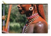 Samburu Warrior Carry-all Pouch