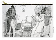 Scene From Pride And Prejudice By Jane Austen Carry-all Pouch