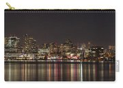 Seattle Skyline On Lake Union Carry-all Pouch